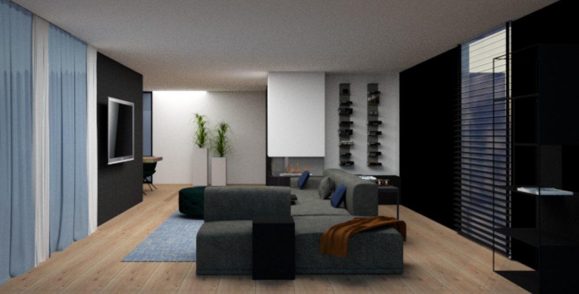 Interieuradvies nieuwbouwvilla woonkamer